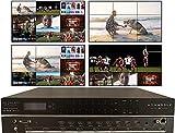 3x3 Video Wall 4K Controller with 9 inputs 9 outputs (9x9) 4x2 2x4 2x3 3x2 2x2 HDMI Matrix Switcher Processor HD Splicer Splitter Four Displays Multiple Inputs 1x5 1x6 1x7 1x8 8x1 7x1 6x1 5x1