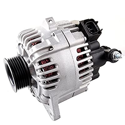 ZENITHIKE Alternators Compatible with 2001 2002 2003 2004 for H-yundai Santa Fe 1999 2000 2001 2002 2003 2004 for H-yundai Sonata 2003 2004 for H-yundai Tiburon 2001 2002 2003 2004 for Kia Magentis