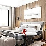 Lisabed Flex - Matelas Olinda-Flex 140x190, viscoélastique graphène haute densité, réversible (hiver/été), Gamme Prestige Hôtel, 22 cm - Toutes Les Mesures
