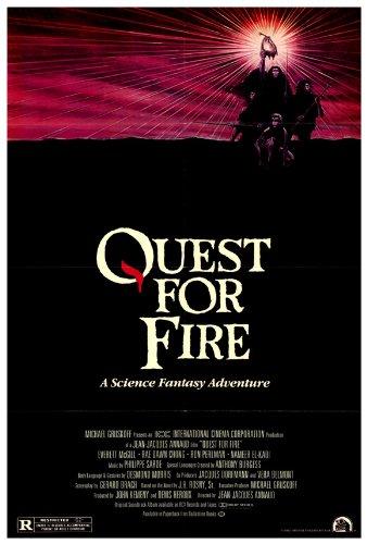 Quest for Fire Poster 27x40 Everett McGill Ron Perlman Nameer El-Kadi