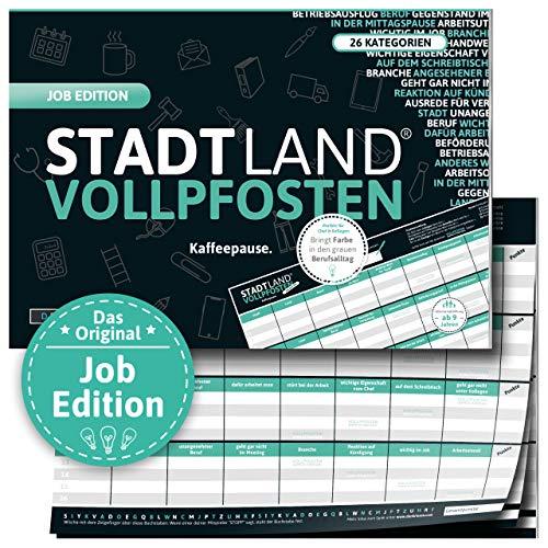 DENKRIESEN - Stadt Land VOLLPFOSTEN® - Job Edition \'Kaffeepause.\'