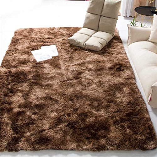 JINGXIANG Modernes Wohnzimmer Halle Fluffy Teppich Saloon Foyer Shaggy Mat Baby Room...