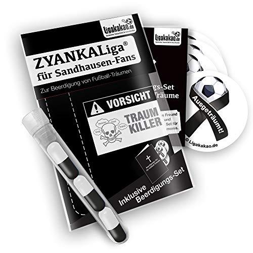 Sandhausen Home Trikot ist jetzt ZYANKALIGA für SVS Fans by Ligakakao.de Puma Herren Home Shirt Replica mit Logo schwarz-weiß