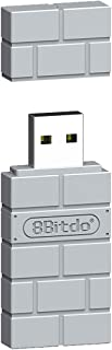 8Bitdo Wireless Bluetooth Adapter for PlayStation Classic Console/ PS1 Mini (Works with PS4 Controller) - PlayStation