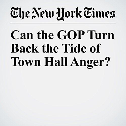 Can the GOP Turn Back the Tide of Town Hall Anger? copertina