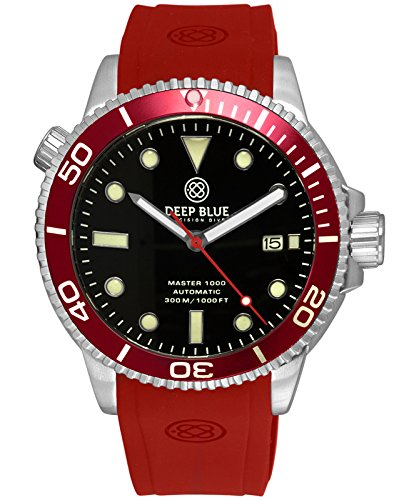 Deep Blue Master 1000 Automatic Diver Watch...