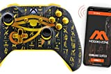 Seeing Eye Gold Smart Rapid Fire Custom Modded Controller for Xbox One S Mods FPS Games and More. Control and Simply Adjust Your mods via Your Phone!