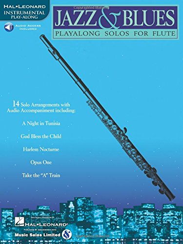 Jazz & Blues: Instrumental Play-Along for Flute [With]