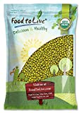 Certified Organic Mung Beans by Food to Live (Sprouting, Non-GMO, Kosher, Sirtfood, Bulk) — 5 Pounds