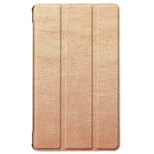 Hülle für Huawei MediaPad M5 8.4 Zoll Schutzhülle Tablet Smart Cover mit Auto Sleep/Wake, Standfunktion und Touchpen Gold - 2