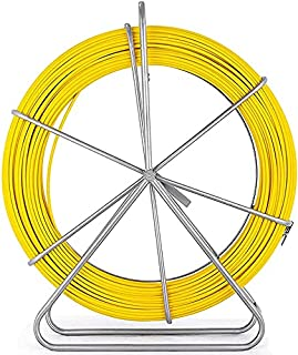 Tire Fil Électriques Fish Tape Fiberglass Reel Wire Cable Running Rod Duct Rodder Fishtape Extracteur 6Mm