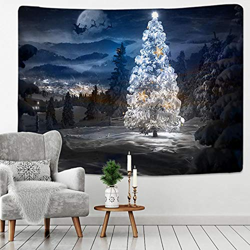 2020 New Christmas Trees Tapestry Wall Hanging Christmas Day Hanging Cloth Scene Decoration Cloth Wall Cloth Multiple Sizes