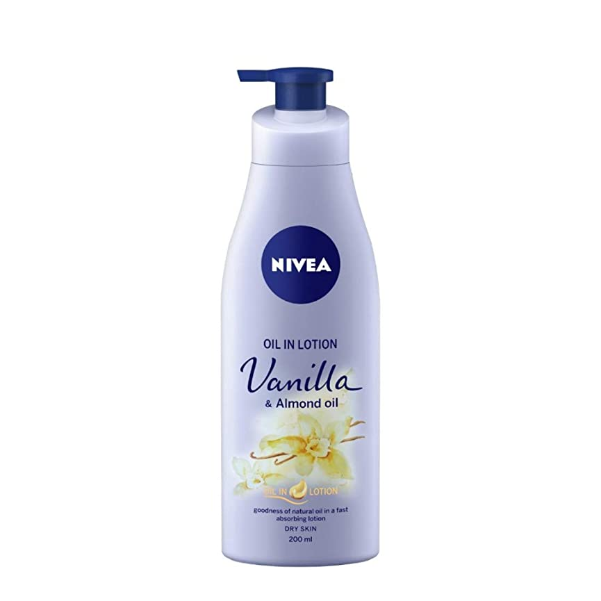 タフ促す静かにNIVEA Oil in Lotion, Vanilla and Almond Oil, 200ml