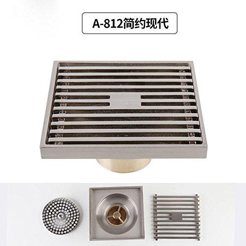 SDKKY la base des drains de plancher l'odeur des drains de plancher intérieur épaississement filtre en acier inoxydable sur écran des tôles drains de plancher,b
