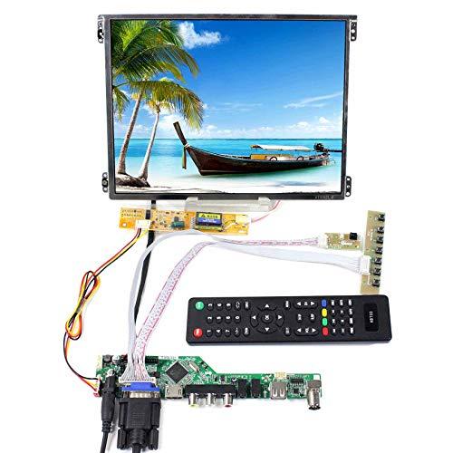 Panel de control LCD IPS HT10X21 HDMI VGA AV USB de 10,4 Pulgadas (1024 x 768)