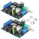 2pcs TPA3116D2 Class D Stereo DC 5V—24V 2x50W High Power, Digital Audio Amplifier, Subwoofer Power Amplifier Board, Suitable for Home Audio、car Speakers, DIY