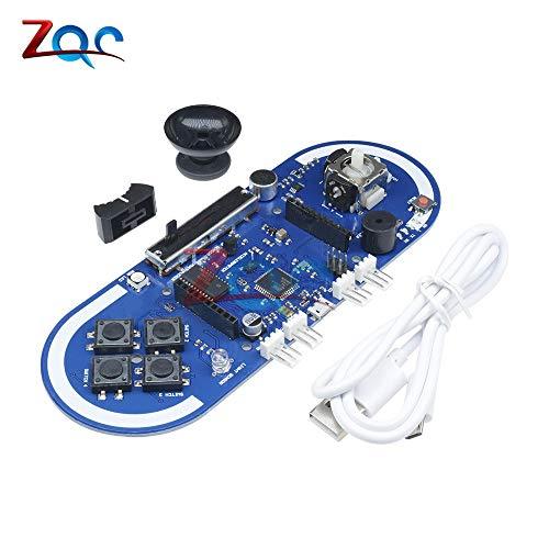 Atmega32u4 Esplora Joystick Spielprogrammmodul Für Arduino IDE Oszillator Mikrocontroller Temperaturlicht Sensor Platine Kabel