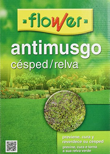 Flower 40508 40508-Anti-musgo césped, 1 kg, No Aplica,