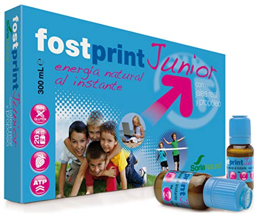 Soria Natural Fost Print Junior Fresa - 20 Unidades