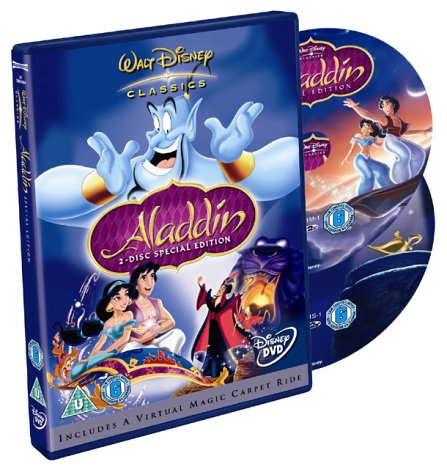 Aladdin [2 Disc Special Edition] [DVD] [1993]