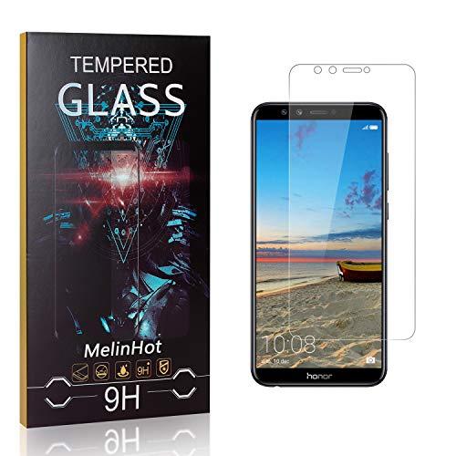 MelinHot Verre Trempé pour Huawei Honor 9 Lite, 3D Touch Ultra Résistant Protection en Verre Trempé Écran pour Huawei Honor 9 Lite, sans Traces de Doigts, 1 Pièces