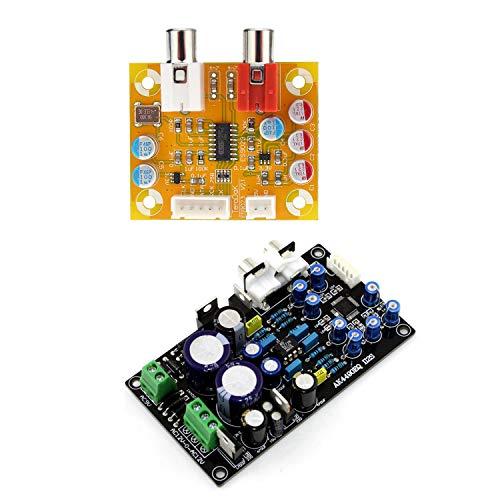 SNOWINSPRING Dac Sabre Es9023 Analog I2S 24Bit 192 Khz Decoder Board & Ak4490Eq Ak4490 Ii2S Dac Support 32Bit 768K Hifi Decoder Board