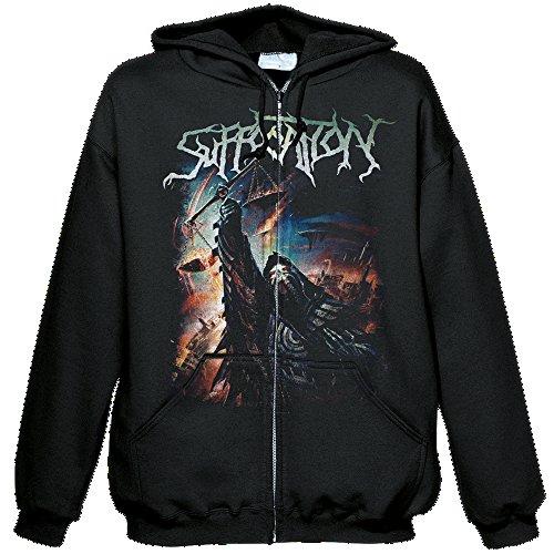 Suffocation - Pinnacle of Bedlam - Kapuzenjacke/Hooded Zipper - Größe Size L