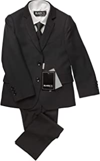 BLACKTIE Boys Premium Wool Blend Slim Fit Suit Complete Outfit