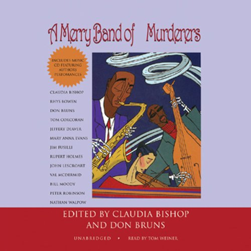 A Merry Band of Murderers audiobook cover art