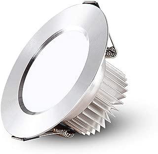 HETX7 LED Recessed Ceiling Lights Spotlights 3W 5W 7W Downlights Warm White 3000K 230V Round Nickel for Living room Bedroom Kitchen Flush Mount LED Spot Lighting round led panel light