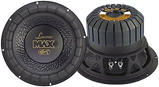 $47 » Lanzar 12in Car Subwoofer Speaker - Black Non-Pressed Paper Cone, Stamped Steel Basket, 4 Ohm Impedance, 1000 Watt Power a...