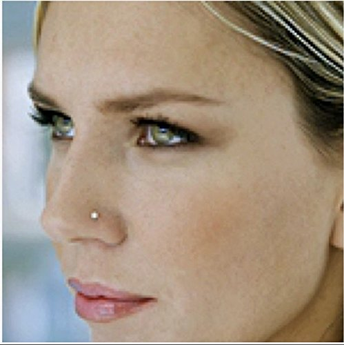 ✿ Mini crystal ✿ small stud nosepiece Piercing made of stainless steel
