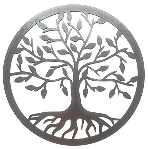 Eagle Eye Products LLC Tree of Life Sign | Metal Wall Art | Family Tree Sign | Family Decor | Decorative Heavy Duty Design | Indoor Outdoor Sign | 15