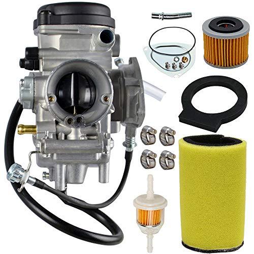 Carburetor Carb Kit For Yamaha Big Bear Wolverine Kodiak Grizzly 400 YFM 400 YFM400 2000 2001 2002 2003 2004 2005 2006 ATV With Air Fiter Fuel Filter
