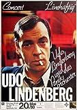Udo Lindenberg - Livehaftig 1980 - Poster Plakat