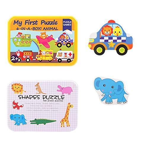 Puzzles Spielzeug Frühkindliche Bildung Frühe Intelligenz Gehirn 24 Kinder 3 Jungen EIN bis Zwei Jahre Alten Mädchen Spielzeug Brainteaser (Color : C)