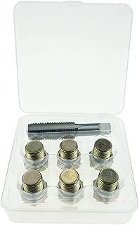 Supercrazy M15 X 1.5MM Oil Pan Drain Plug Thread Repair Tool Kit SF0087C