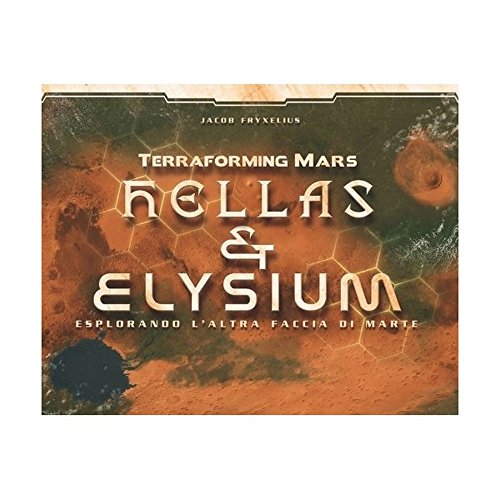 Ghenos Games TMHE Terraforming Mars Erweiterung Hellas & Elysium, Mehrfarbig