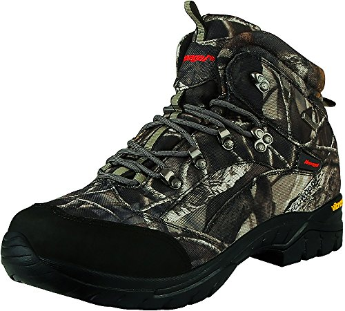 Hanagal Men's Bushland Hiking & Hunting Boots - Vibram Soles, Waterproof and Breathable