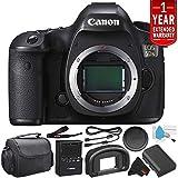 Canon EOS 5DS Digital SLR Camera 0581C002 (Body Only)- Starter Bundle (International Version)