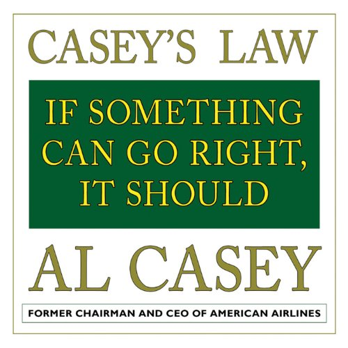Casey's Law audiobook cover art