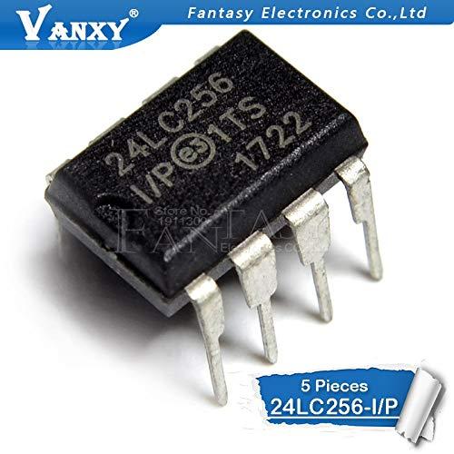 5 STÜCKE 24LC256-I/P DIP-8 24LC256I / P DIP8 24LC256 EEPROM DIP
