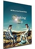 Instabuy Poster - Playbill - TV Series - Breaking Bad Variant 02 Manifesto 70x50