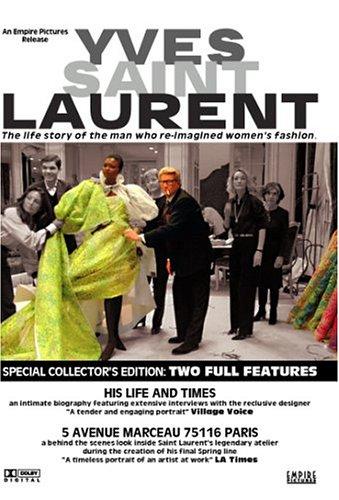 Price comparison product image Yves Saint Laurent - His Life and Times / 5 Avenue Marceau 75116 Paris