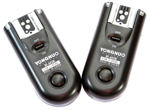 Yongnuo OS00509Flash Camera 100m Remote RF RF-603N3for Nikon D90/D3000/D3100/D3200/D5000/D5100/D7000