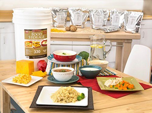 Chef's Banquet 30 Day (330 Servings) Emergency Food Supply / Food Storage Kit