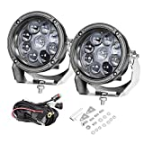 LED Pods, 5 inch AKD Part 90W CREE Round...