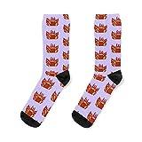 Flaming elmo HELLMO Socks Unisex socks for men and women, patterned socks, Xmas gifts