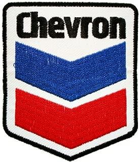 Chevron texaco gas stations oil sign t Shirts GC05 Iron on Patches