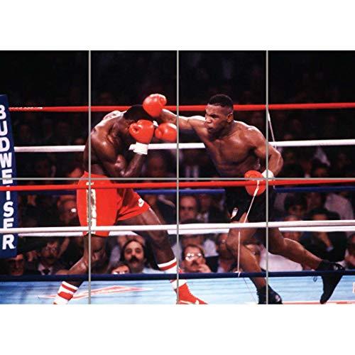 Preisvergleich Produktbild Doppelganger33 LTD Tyson Mike Boxing Bruno Huge Wand Kunst Multi Panel Poster drucken 47x33 Zoll